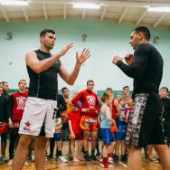 Мастер-класс Чемпиона мира по тайскому боксу Артёма Левина в Казани